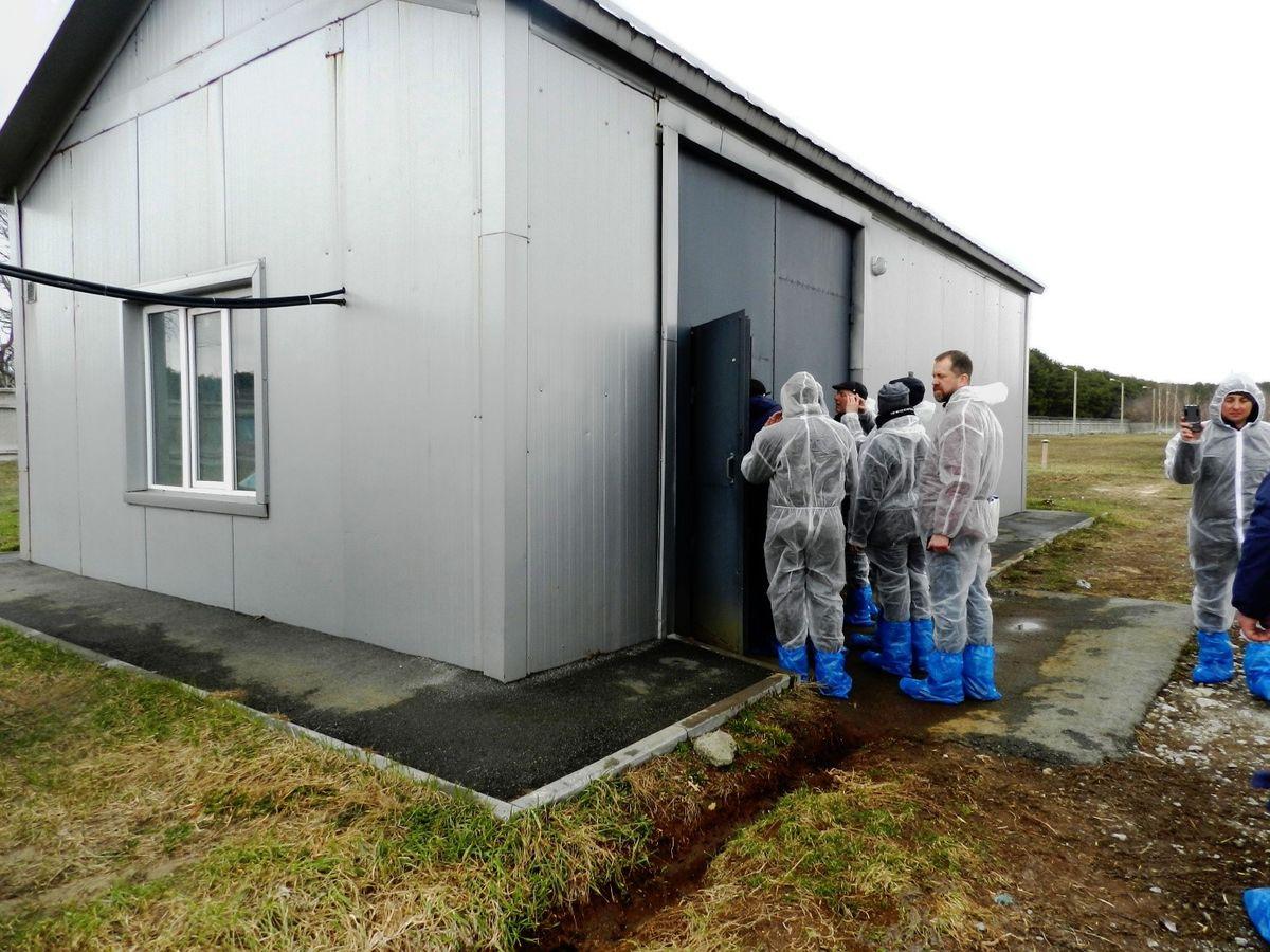 Общественность знакомится с работой очистных сооружений