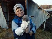 Норковая ферма звероплемхоза Киевского регионального союза потребительской кооперации в с. Большая Каратуль