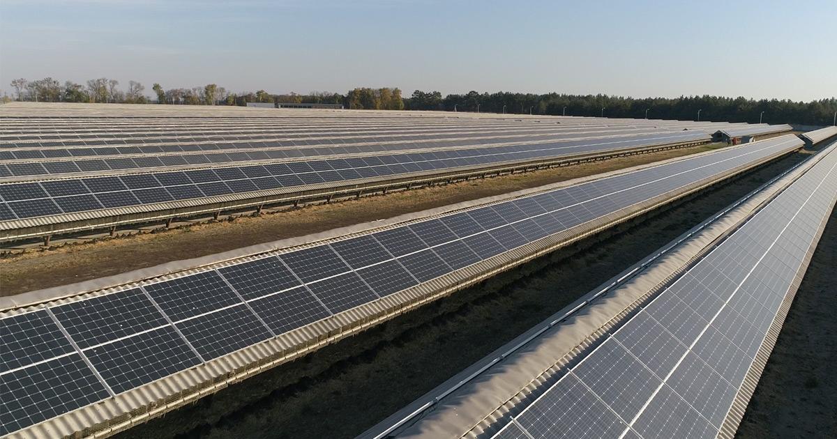 Самая крупная в Украине кровельная солнечная электростанция увеличила мощностьСамая крупная в Украине кровельная солнечная электростанция увеличила мощность
