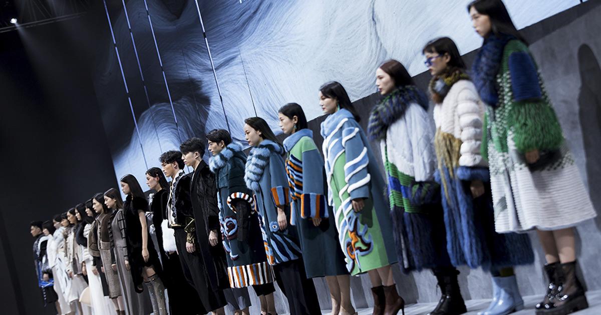 Saga Furs на неделе моды Haining 2020