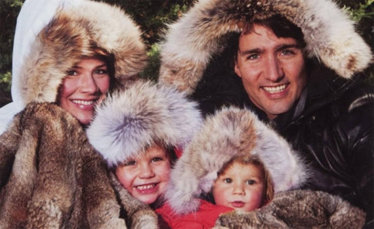 Премьер-министр Канады Джастин Трюдо поддерживает меховую отрасль