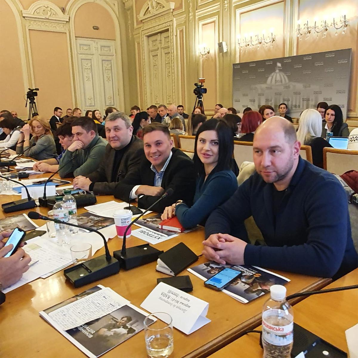 Круглому столі, організованому парламентським Комітетом з питань екологічної політики і природокористування