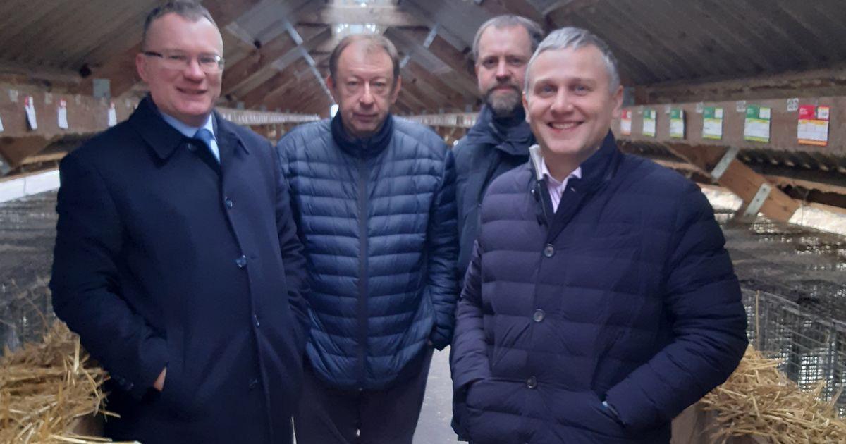 Генеральний директор Федерації работодавців України побував на норковій фермі