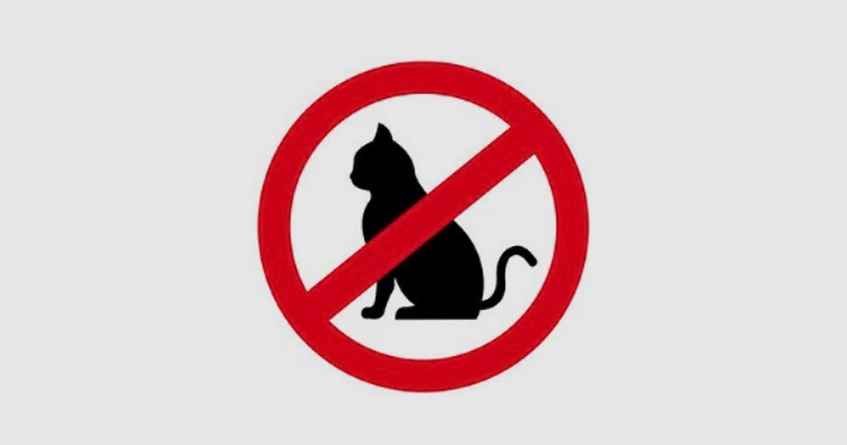 Виключити знаходження і вільне переміщення котів по території ферм
