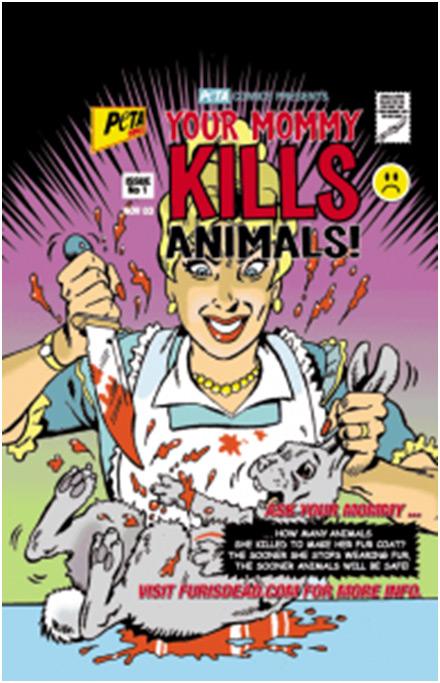 PETA пристає до дітей з насильницькою пропагандою