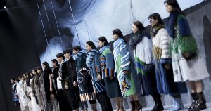 Saga Furs на тижні моди Haining 2020